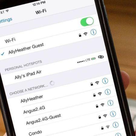 Wi-Fi en el iPhone