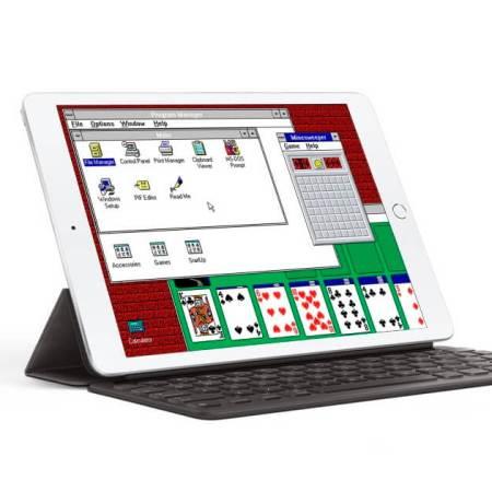 Windows 3.1 en el iPad