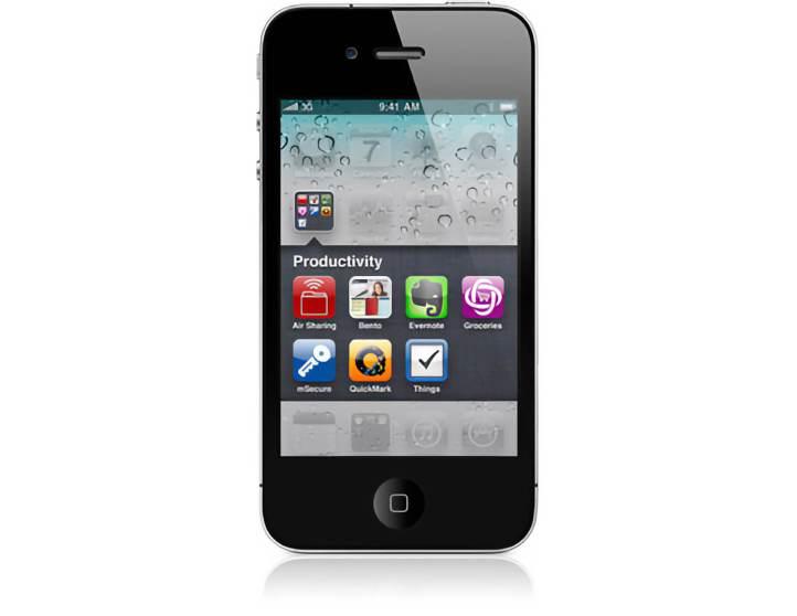 Carpetas en iOS 4