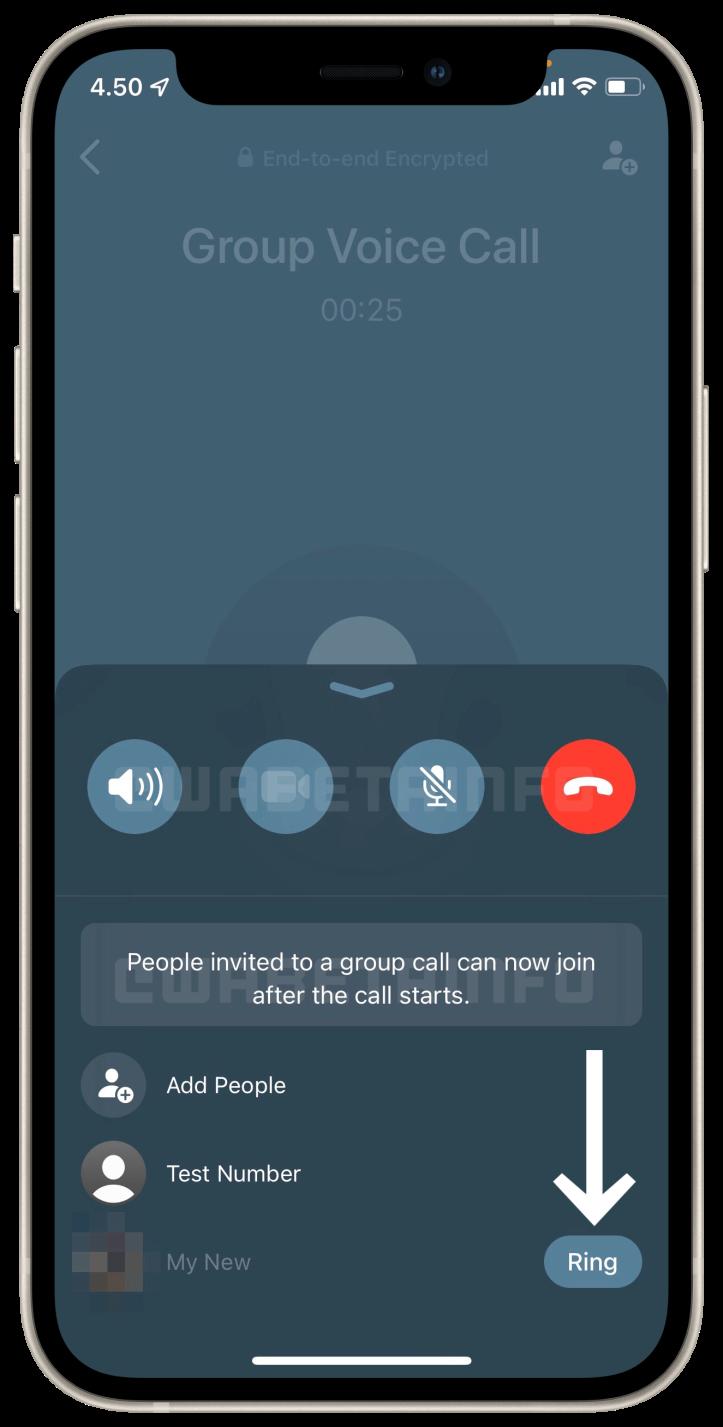 Nueva interfaz en las llamadas de WhatsApp