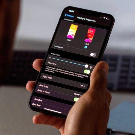 Modo oscuro en iPhone y iPad