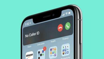 Llamada entrante en iPhone